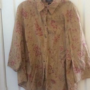 Ladies chaps blouse 3x